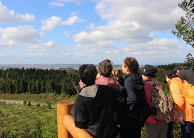 石倉山の展望台